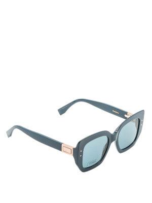 Fendi: sunglasses - Peeakaboo acetate sunglasses