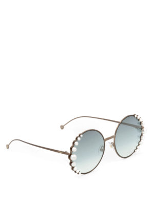 Fendi: sunglasses - Ribbons and Pearls sunglasses