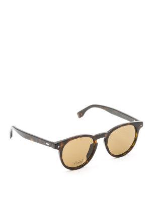 Fendi: sunglasses - Tortoiseshell sunglasses
