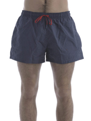 Fendi: Swim shorts & swimming trunks online - Logo printed swim shorts