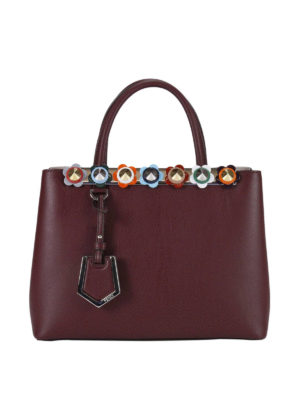 Fendi: totes bags - 2 Jours Flowerland detail small bag