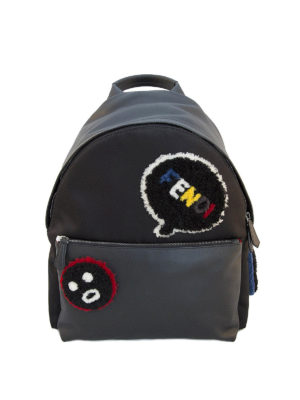 Fendi: totes bags - Bag Bug leather backpack