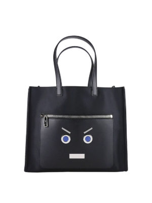 Fendi: totes bags - No Words nylon and leather tote
