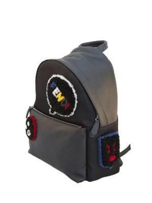 Fendi: totes bags online - Bag Bug leather backpack