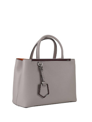 Fendi: totes bags online - Petite 2 Jours leather bag