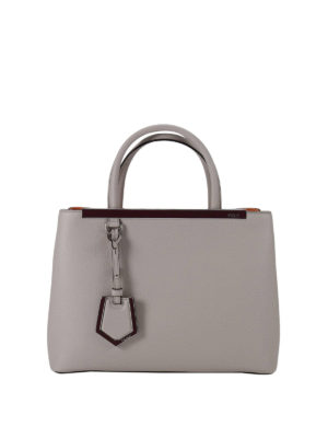 Fendi: totes bags - Petite 2 Jours leather bag