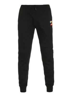 Fendi: tracksuit bottoms - Words patches tracksuit bottom
