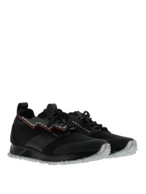 Fendi: trainers online - Lightning detail running sneakers
