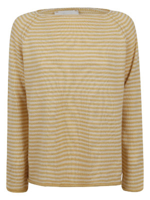 FORTE FORTE: crew necks - Striped jumper
