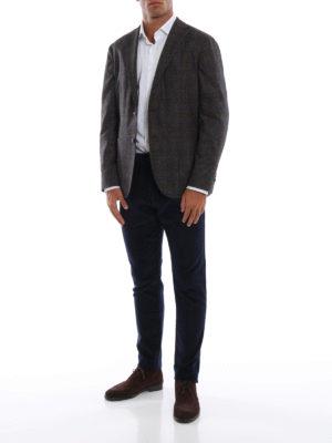 FORTELA: pantaloni casual online - Pantaloni in velluto a costine blu