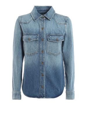 Frame Denim: shirts - Faded denim shirt