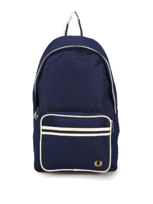 FRED PERRY: backpacks - Contrasting detail nylon backpack