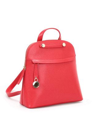 Furla: backpacks online - Piper leather backpack