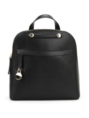 Furla: backpacks - Piper leather backpack