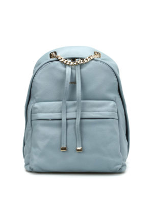 Furla: backpacks - Spy leather backpack