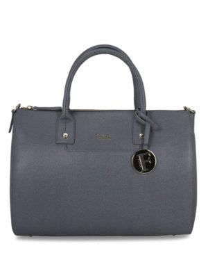 Furla: bowling bags - Linda saffiano bowling bag