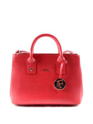 Furla: bowling bags - Linda saffiano leather mini bag