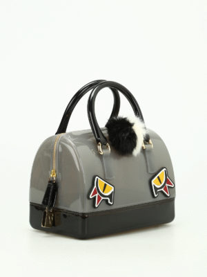 Furla: bowling bags online - Candy Jungle bowling bag