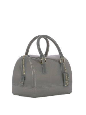 Furla: bowling bags online - Candy rubber bowling bag