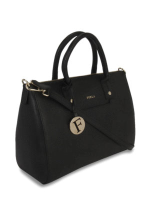Furla: bowling bags online - Linda saffiano bowling bag