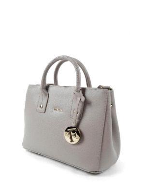 Furla: bowling bags online - Linda saffiano leather mini bag