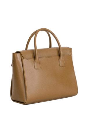 Furla: bowling bags online - Metropolis medium leather bag
