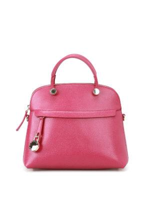 Furla: bowling bags - Piper leather handbag