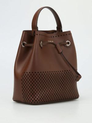 Furla: Bucket bags online - Stacy cut out bucket bag