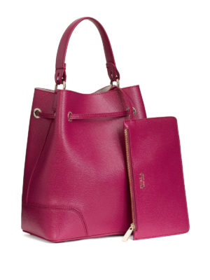 Furla: Bucket bags online - Stacy saffiano bucket bag