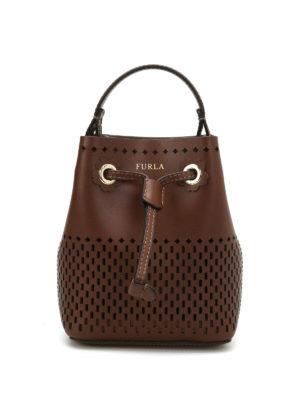 Furla: Bucket bags - Stacy cut out bucket bag