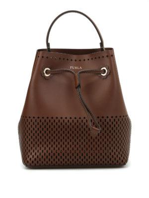 Furla: Bucket bags - Stacy cut out bucket bag