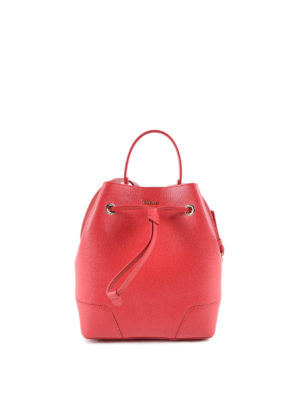 Furla: Bucket bags - Stacy S saffiano bucket bag