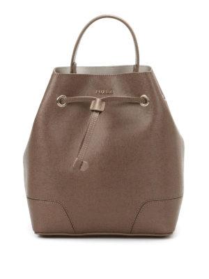 Furla: Bucket bags - Stacy saffiano bucket bag