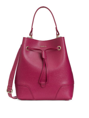 Furla: Bucket bags - Stacy saffiano bucket bag
