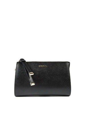 Furla: clutches - Luna leather clutch