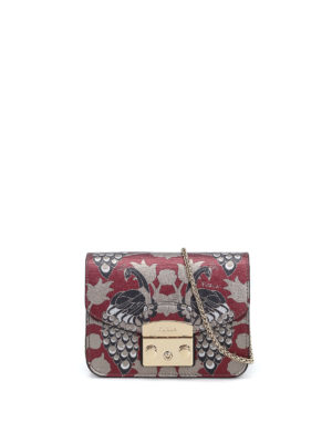 Furla: clutches - Metropolis butterfly print clutch
