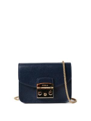 Furla: clutches - Metropolis Mini dark blue clutch