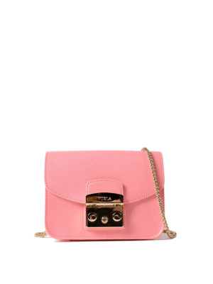 Furla: clutches - Metropolis Mini pink clutch