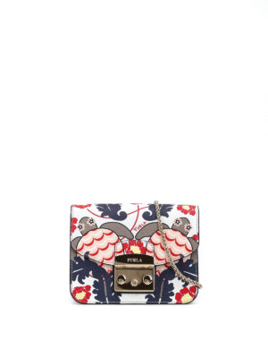 Furla: clutches - Metropolis turtle print clutch