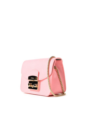 Furla: clutches online - Metropolis Mini pink clutch
