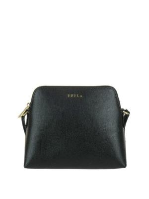 FURLA: borse a tracolla - Tracolla nera Boheme XL