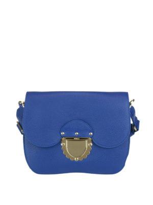 FURLA: borse a tracolla - Piccola tracolla Ducale blu