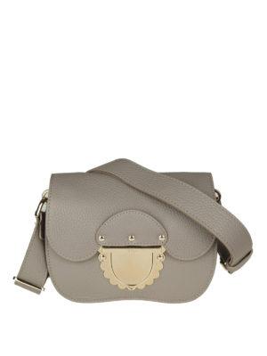 FURLA: borse a tracolla - Borsa Ducale Mini in pelle sabbia
