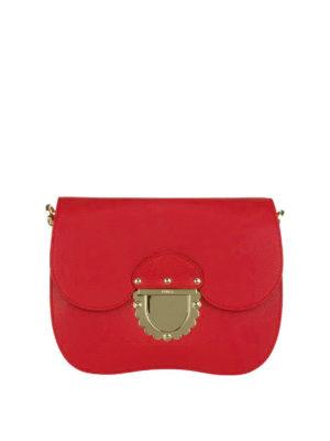 FURLA: borse a tracolla - Piccola tracolla Ducale rossa