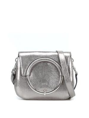 FURLA: borse a tracolla - Borsa Margherita Mini metallizzata