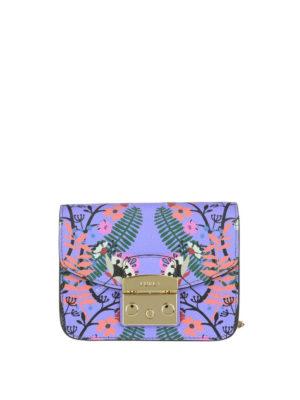 FURLA: borse a tracolla - Mini borsa Metropolis color lavanda