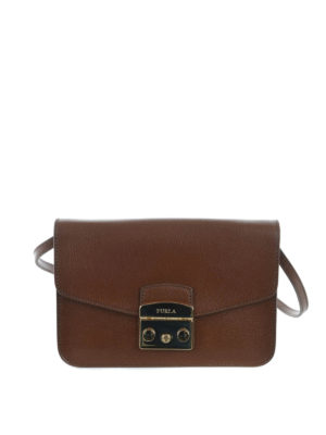 Furla: cross body bags - Metropolis leather bag