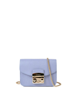 Furla: cross body bags - Metropolis leather mini bag