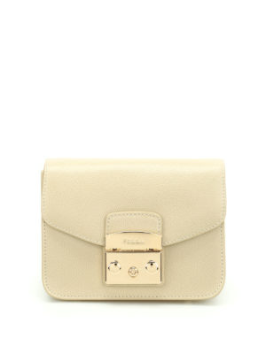 Furla: cross body bags - Metropolis Mini leather bag