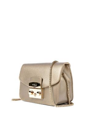Furla: cross body bags online - Metropolis bronze mini bag